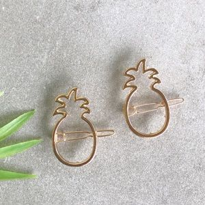 Pineapple Hair Pins